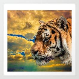 Free Tiger Art Print