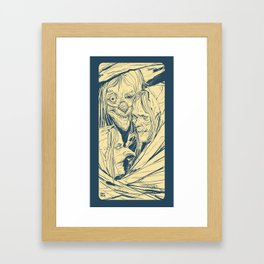 Witchy Hags in Witchy Rags - Month Of Fear 2015 Framed Art Print
