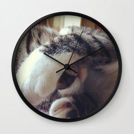 Lilo, my kitty Wall Clock