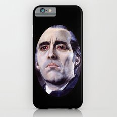 Christopher Lee as Dracula: He is the embodiment of all that is evil. iPhone 6s Slim Case