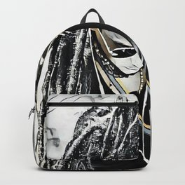Deep in thought Backpack