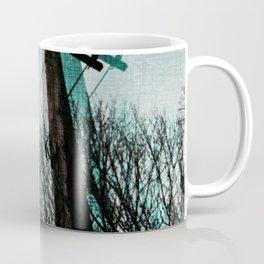 hanging by a string Coffee Mug