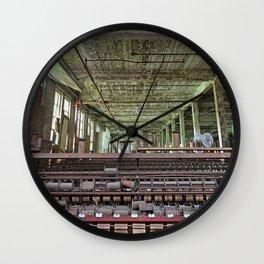 Abandoned Lonaconing Silk Mill Wall Clock