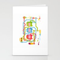 food Stationery Cards featuring Food by Fightstacy
