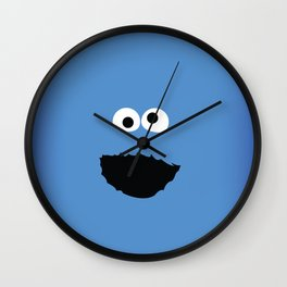SESAME STREET cookie monster Wall Clock