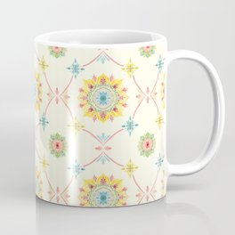 Vintage Peranakan Tiles Coffee Mug