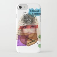barbie iPhone & iPod Cases featuring Barbie by benjamin chaubard