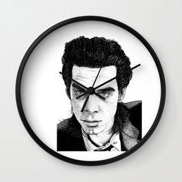 """Nick Cave"" Wall Clock"