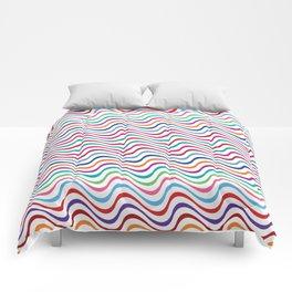 Rippling Colors Comforters