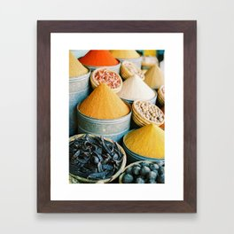 "Travel photography ""Souk Marrakech"" Spices of the Medina 