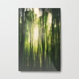 Forest Sunburst V Metal Print