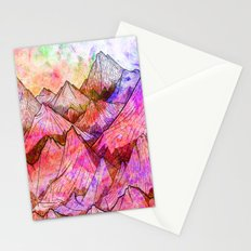 Peaks of Colours Stationery Cards