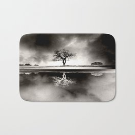 SOLITARY REFLECTION Bath Mat