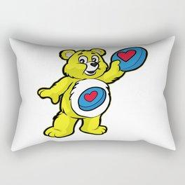 Ultimate FRISBEE TEDDY BEAR Catch funny Rectangular Pillow