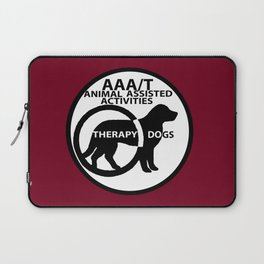 Animal Assisted Activities  - THERAPY DOG logo 15 Laptop Sleeve