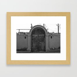 Door to Mexico Framed Art Print