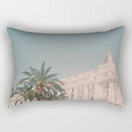Vintage Carlton Hotel Cannes Rectangular Pillow