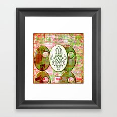 Alice (#TheAccessoriesSeries) Framed Art Print
