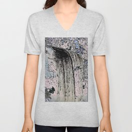"series waterfall ""Cachoeira Grande"" I Unisex V-Neck"