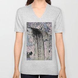 "series waterfall ""Cachoeira Grande"" I Unisex V-Neck"