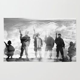 BAND OF BROTHERS Rug