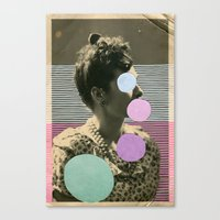 coco Canvas Prints featuring Coco by Naomi Vona