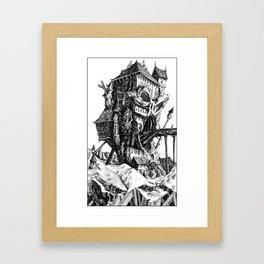 Doom Castle Framed Art Print