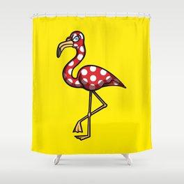 Flamingo Flamenco Shower Curtain