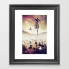I'm Starvin'! Framed Art Print