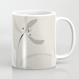 Japanese orchid Asian style brush painting Coffee Mug