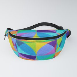 The 'Cross of Light' Effect Fanny Pack