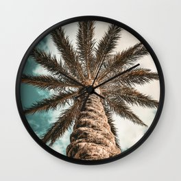 Clouds in Paradise Wall Clock