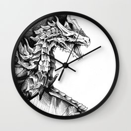 Alduin, the World Eater Wall Clock
