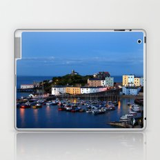 TENBY HARBOUR. PEMBROKESHIRE.WALES. Laptop & iPad Skin