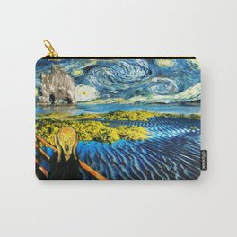 Edvard meets Vincent Carry-All Pouch