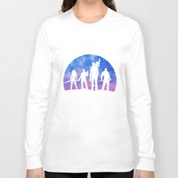 guardians of the galaxy Long Sleeve T-shirts featuring Guardians of the Galaxy - Color by Comix