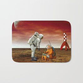 Astronauts Bath Mat