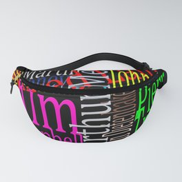 Graphic Prime Ministers Fanny Pack
