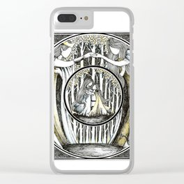 Love beneath the trees Clear iPhone Case