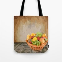 fruit Tote Bags featuring fruit by Shea33