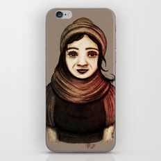 Desert Girl II iPhone & iPod Skin