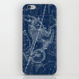 Capricorn sky star map iPhone Skin
