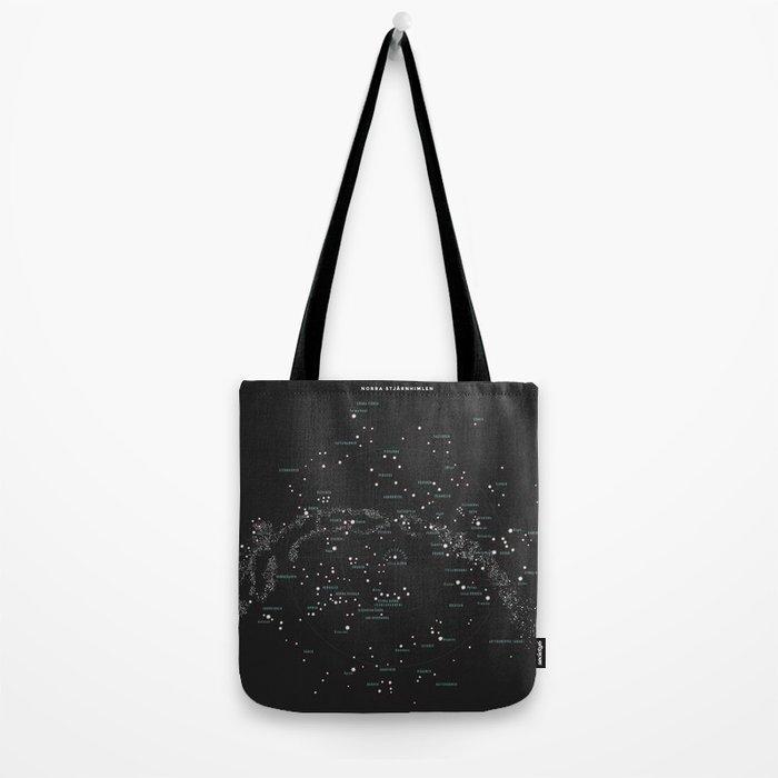 Norra Stjärnhimlen Tote Bag