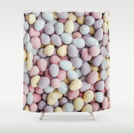 eggs color Shower Curtain