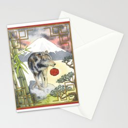 2018 Chinese New Year of the Earth Dog Stationery Cards