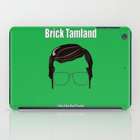 anchorman iPad Cases featuring Brick Tamland: Weather by BC Arts