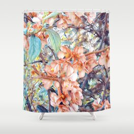 Aquarell Floral 05 Shower Curtain