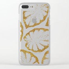 Monstera Gold #society6 #decor #buyart Clear iPhone Case