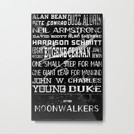 Moonwalkers Metal Print