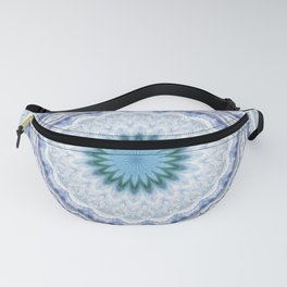 SUMMER BLUE - OCEAN AND SUNSHINE PATTERN Fanny Pack